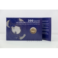 ESTONIA 2 EURO 2020 - 200 YEARS SINCE THE DISCOVERY OF ANTARCTICA C/C