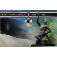 ESTONIA 2 EURO 2018 - War of Independence 1918-1920 - C/C