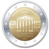 ESTONIA 2 EURO 20192 - TARTU UNIVERSITY