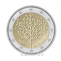 ESTONIA 2 EURO 2020 - 100TH ANNIVERSARY OF THE TARTU PEACE TREATY BETWEEN THE RSFSR AND ESTONIA