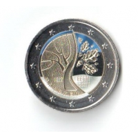ESTONIA 2 EURO 2017 - 100 YEARS OF THE EVENTS THAT PRECEDED ESTONIA'S INDEPENDENCE -c