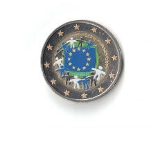 ESTONIA 2 EURO 2015 - 30 YEARS OF THE EU FLAG