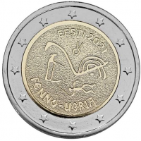 ESTONIA 2 EURO 2018 - 100TH ANNIVERSARY OF THE REPUBLIC OF ESTONIA - C/C