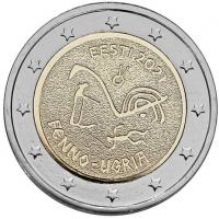 ESTONIA 2 EURO 2018 - 100TH ANNIVERSARY OF THE REPUBLIC OF ESTONIA (COIN CARD)