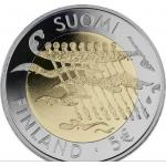 FINLAND 5 EURO PROOF