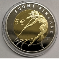 FINLAND 5 EURO 2005 -  ATHLETICS WORLD CHAMPIONSHIPS IN HELSINKI - PROOF
