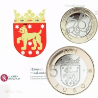 FINLAND 5 EURO 2011 - HISTORICAL PROVINCES - TAVASTIA - PROOF