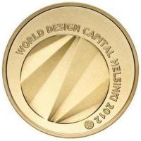 FINLAND 5 EURO 2012 - WORLD DESIGN CAPITAL HELSINKI