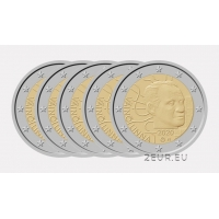 FINLAND 2 EURO 2020 - 100TH ANNIVERSARY OF THE BIRTH OF VÄINÖ LINNA(5Х5.25)