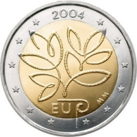 FINLAND 2 EURO 2004 -ENLARGEMENT OF THE EUROPEAN UNION