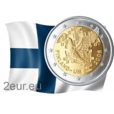 FINLAND 2 EURO 2005 - DOVE OF PEACE