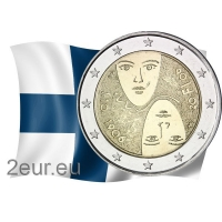FINLAND 2 EURO 2006 - 100 YEARS OF UNIVERSAL AND EQUAL SUFFRAGE