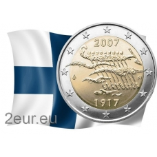 FINLAND 2 EURO 2007 - 90 YEARS OF INDEPENDENCE