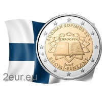 FINLAND 2 EURO 2007 - TREATY OF ROME