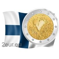 FINLAND 2 EURO 2008 - HUMAN RIGHTS