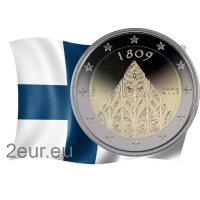 FINLAND 2 EURO 2009 - 200 YEARS OF CENTRAL GOVERNMENT INSTITUTIONS