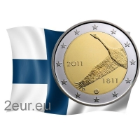 FINLAND 2 EURO 2011 - CENTRAL BANK OF FINLAND 200TH ANNIVERSARY