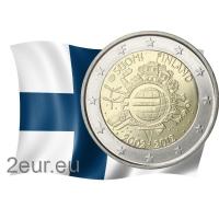 FINLAND 2 EURO 2012 - 10 YEARS OF EURO