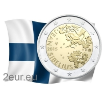 FINLAND 2 EURO 2015 - JEAN SIBELIUS