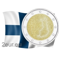 FINLAND 2 EURO 2017 - 100 YEARS OF INDEPENDENCE