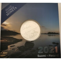 FINLAND 20 EURO 2021 - Åland autonomy 100 years - silver