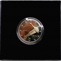 FINLAND 2 EURO 2011 - CENTRAL BANK OF FINLAND 200TH ANNIVERSARY - PROOF