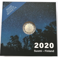 FINLAND 2 EURO 2020 - 100TH ANNIVERSARY OF THE TURKU UNIVERSITY - PROOF