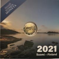 FINLAND 2 EURO 2021 -2 - Åland autonomy 100 years - PROOF