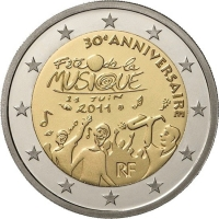 FRANCE 2 EURO 2011 - 30TH ANNIVERSARY OF INTERNATIONAL MUSIC DAY