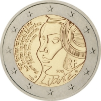 FRANCE 2 EURO 2015 - 225TH ANNIVERSARY OF THE FESTIVAL OF THE FEDERATION