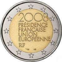 FRANCE 2 EURO 2008 - PRESIDENCE EU