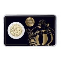 FRANCE 2 EURO 2019 -60 YEARS ASTERIX. ASTERIX AND OBELIX SIDE ABOUT
