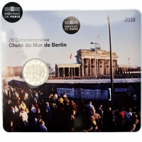 FRANCE 2 EURO 2019 - 30TH ANNIVERSARY OF THE FALL OF THE BERLIN WALL - C/C