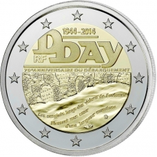 FRANCE 2 EURO 2014 - 70TH ANNIVERSARY OF THE D-DAY
