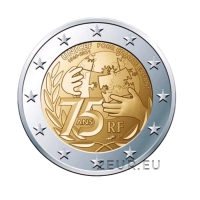FRANCE 2 EURO 2021 - 75 Years Since the Foundation of UNICEF