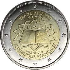 FRANCE 2 EURO 2007 - TREATY OF ROME