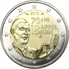 FRANCE 2 EURO 2010 - 70 YEARS OF APPEAL OF 18TH JUNE 1940