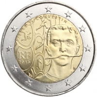 FRANCE 2 EURO 2013 - PIERRE DE COUBERTIN