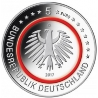 GERMANY 5 EURO 2017 - TROPISHE ZONE - G