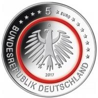 GERMANY 5 EURO 2017 - TROPISHE ZONE - G