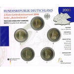 GERMANY 2 EURO - BU SET