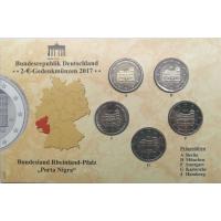 GERMANY 2 EURO 2017 - RHEINLAND-PFALZ: PORTA NIGRA - BU