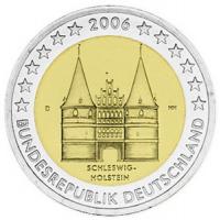 GERMANY 2 EURO 2006 - HOLSTEIN - D - MUNICH
