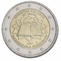 GERMANY 2 EURO 2007 - TREATY OF ROME - A - BERLIN