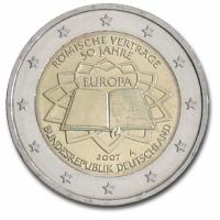 GERMANY 2 EURO 2007 - TREATY OF ROME - A - BERLIN