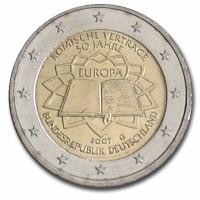 GERMANY 2 EURO 2007 - TREATY OF ROME - G - KARLSRUHE