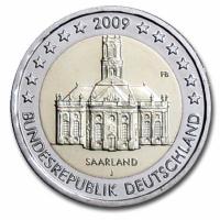GERMANY 2 EURO 2009 - SAARLAND - J - HAMBURG