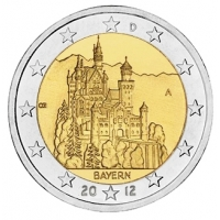 GERMANY 2 EURO 2012 - BAVARIA - A - BERLIN