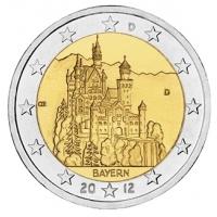 GERMANY 2 EURO 2012 - BAVARIA - D - MUNICH