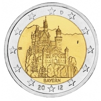 GERMANY 2 EURO 2012 - BAVARIA - F - STUTTGART
